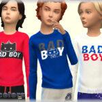 Одежда для мальчика Симс 4