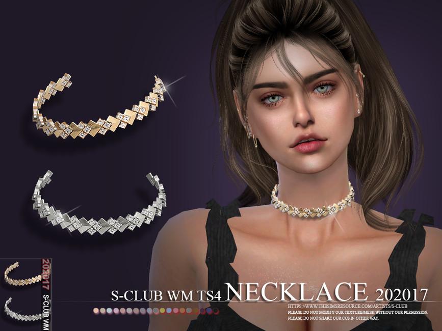 Ожерелье для Симс 4