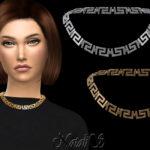 Ожерелье Симс 4