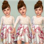 Платья для малышей Симс 4