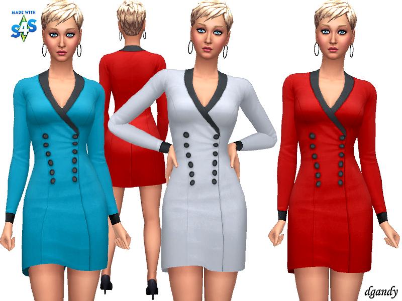 Платья для женщин Симс 4