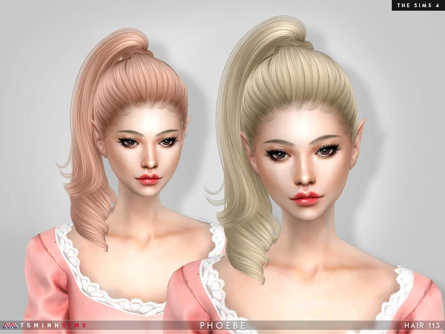Прически девушкам Симс 4