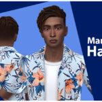 Прически Maxis Match Симс 4