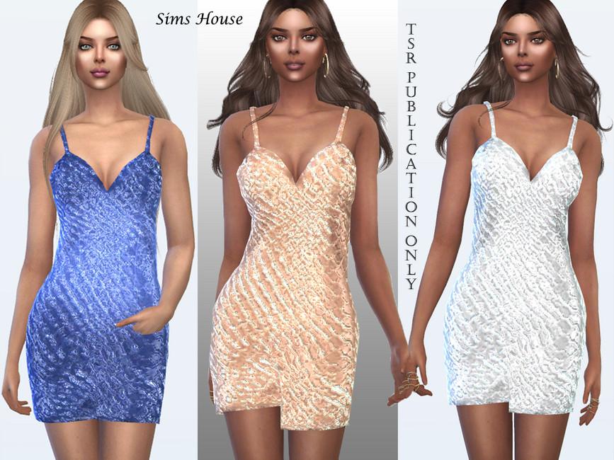 Роскошные платья Симс 4