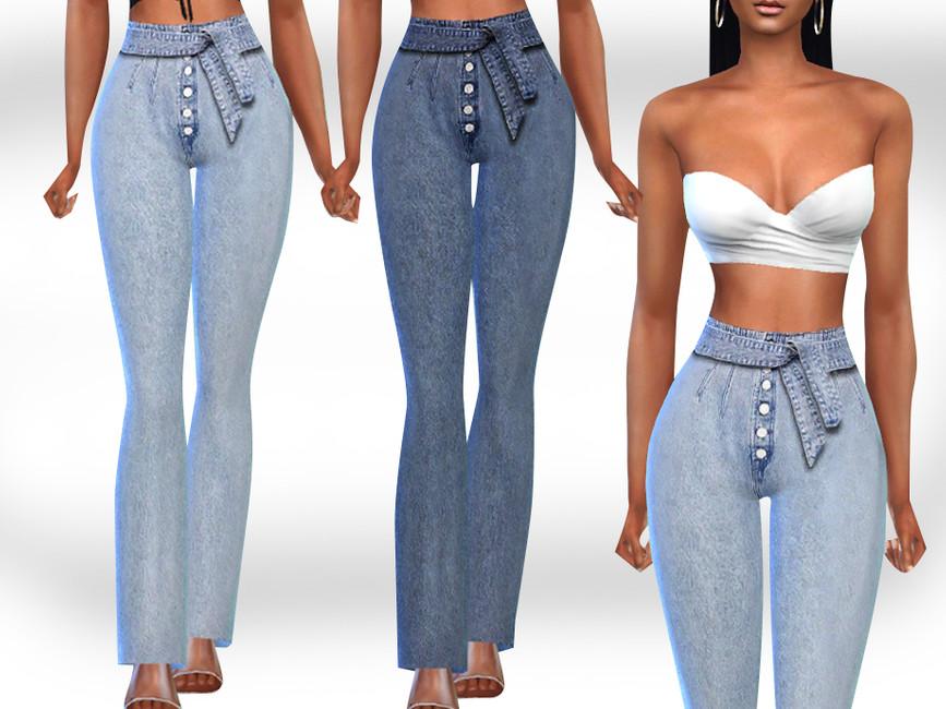 Скачать джинсы для Симс 4