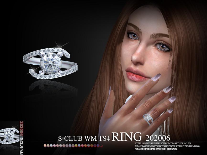 Скачать кольца Симс 4