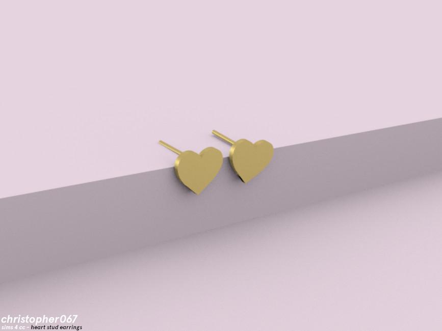 Скачать моды на сережки Симс 4 (картинка 3)