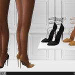 Скачать обувь для девушек Симс 4