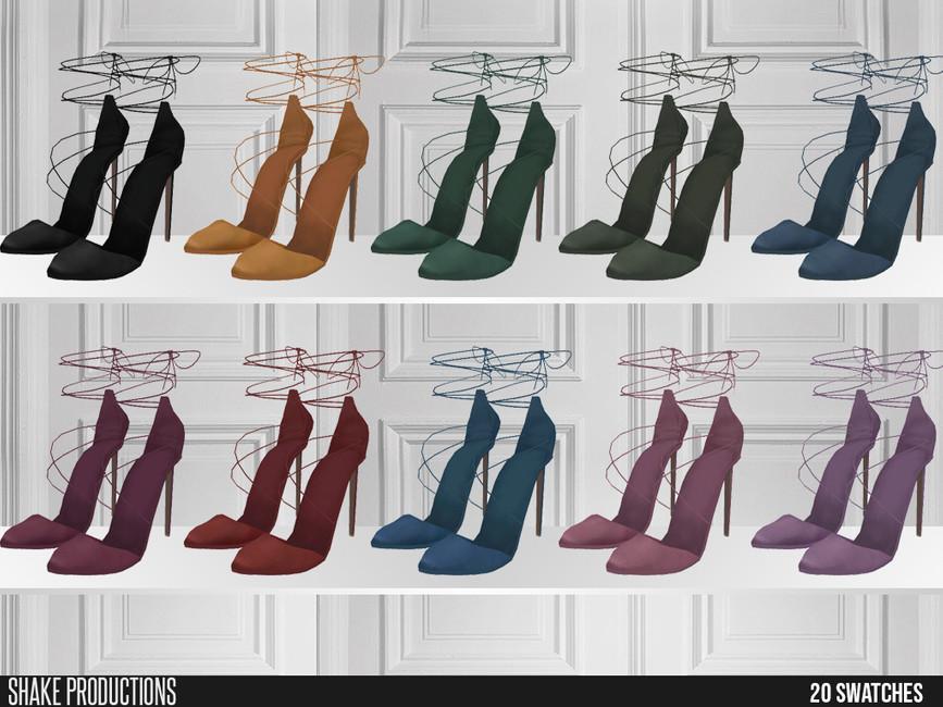 Скачать обувь для девушек Симс 4 (картинка 2)
