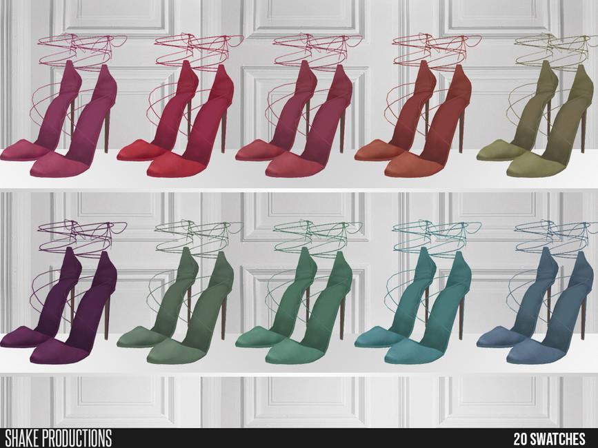 Скачать обувь для девушек Симс 4 (картинка 3)
