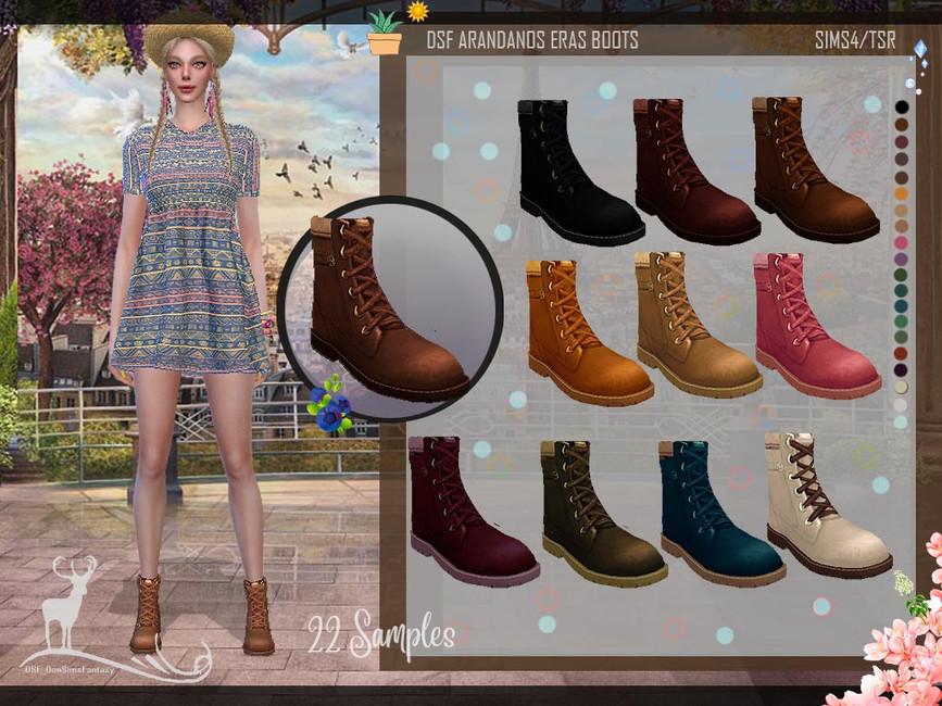 Скачать обувь для женщин Симс 4