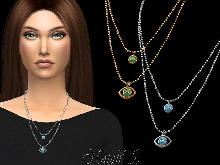 Скачать ожерелье для Симс 4