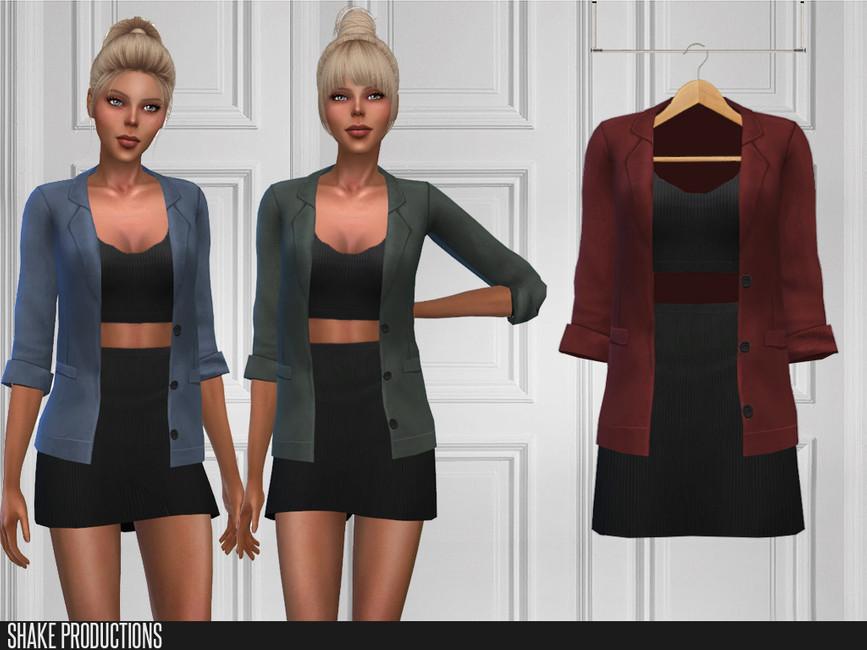 Скачать платья для женщин для Симс 4 (картинка 2)