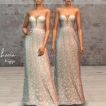 Скачать свадебное платье для Симс 4