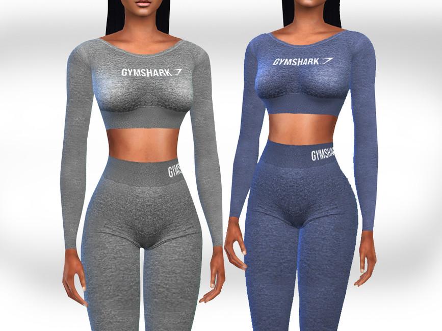 Спортивная одежда Симс 4 (картинка 2)