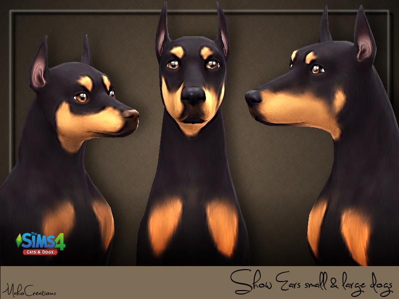 Уши животных Симс 4