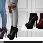 Женская обувь Симс 4