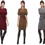 Женская одежда Симс 4