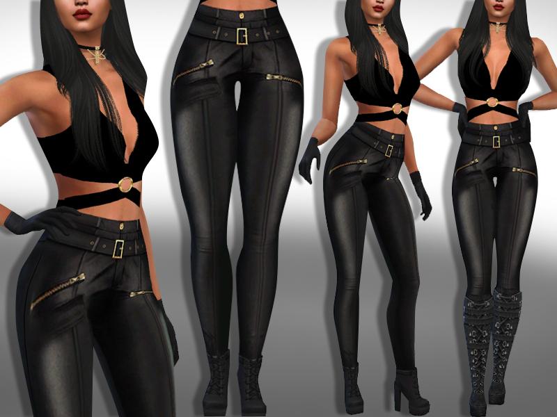 Женские брюки Симс 4