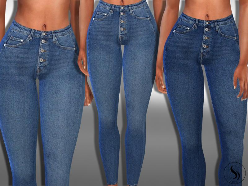 Женские джинсы Симс 4