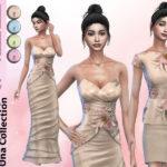 Женские платья Симс 4