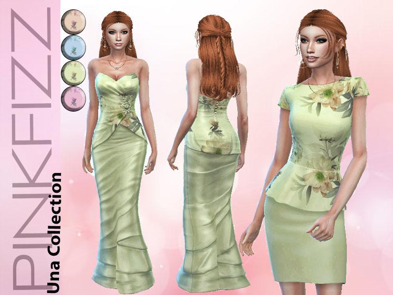 Женские платья Симс 4 (картинка 2)