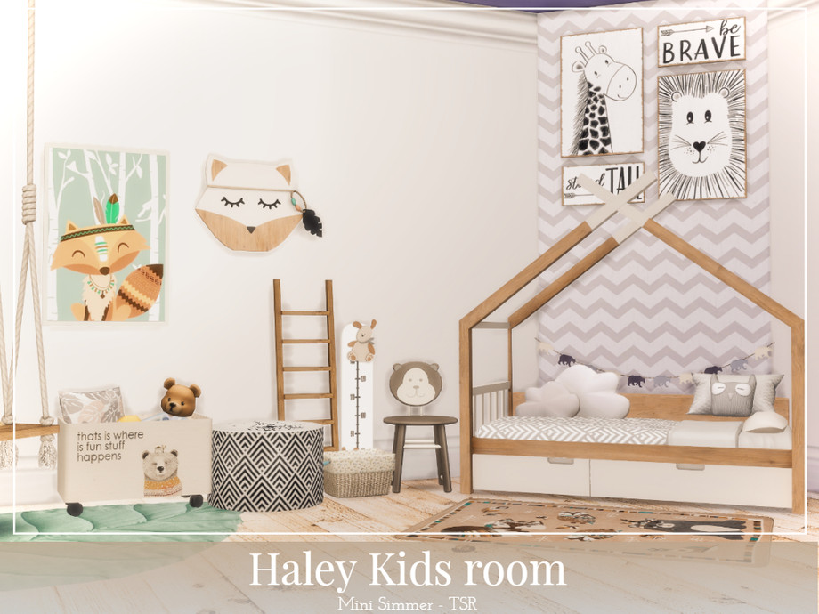 Детская комната Симс 4