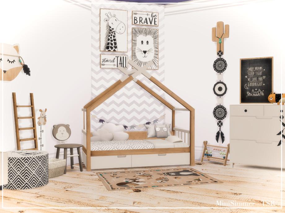 Детская комната Симс 4 (картинка 2)
