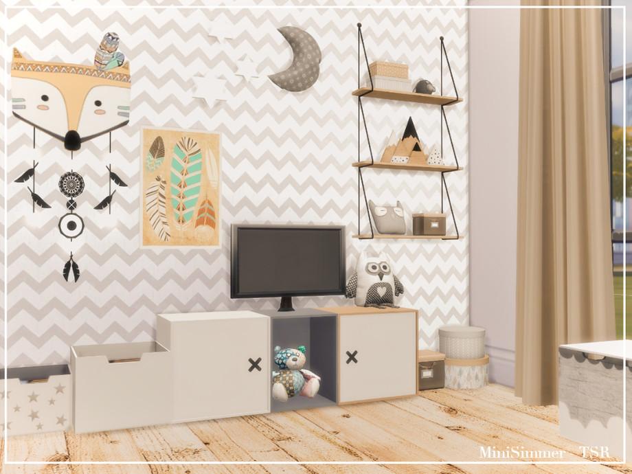 Детская комната Симс 4 (картинка 3)