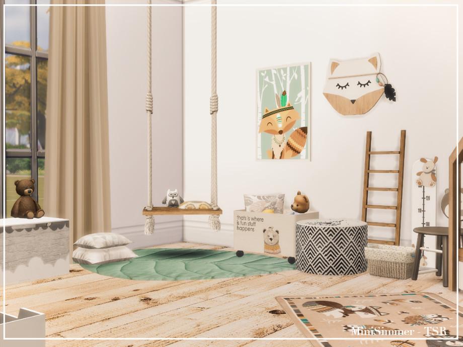 Детская комната Симс 4 (картинка 4)