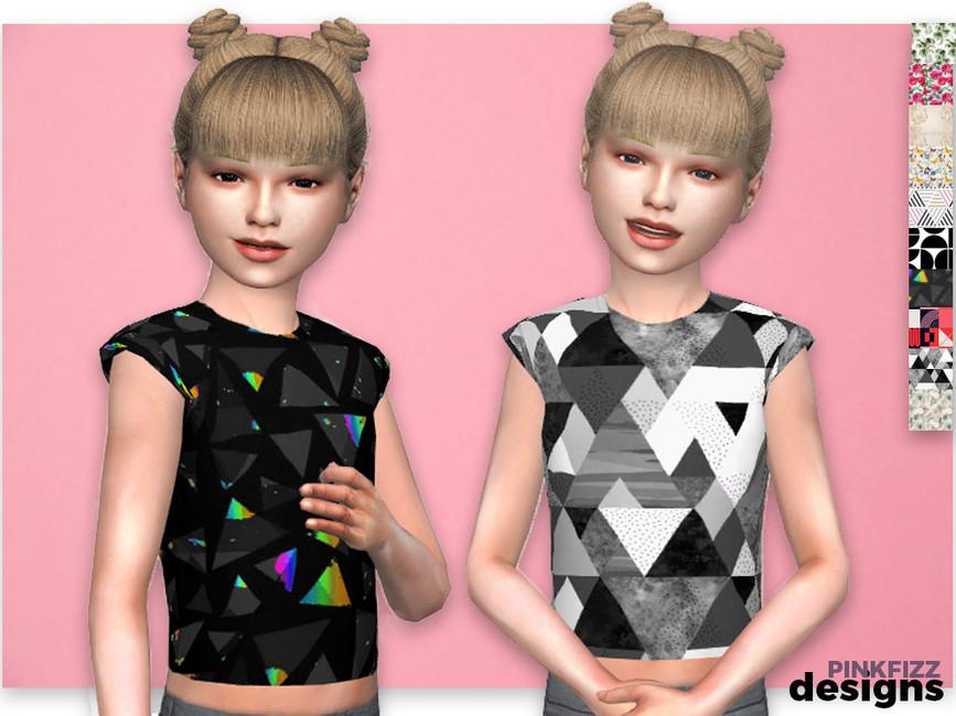 Детская одежда Симс 4