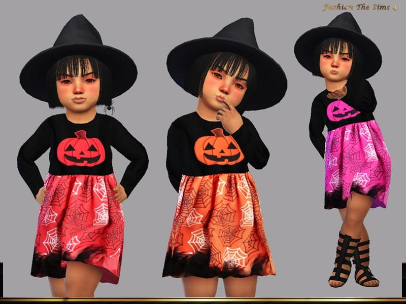 Детское платье Симс 4