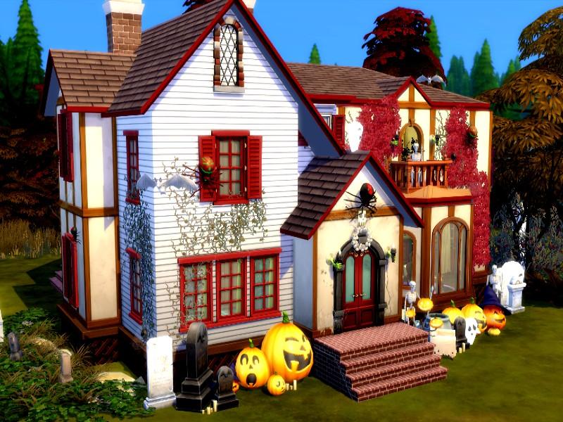 Дом с призраками Симс 4 (картинка 2)