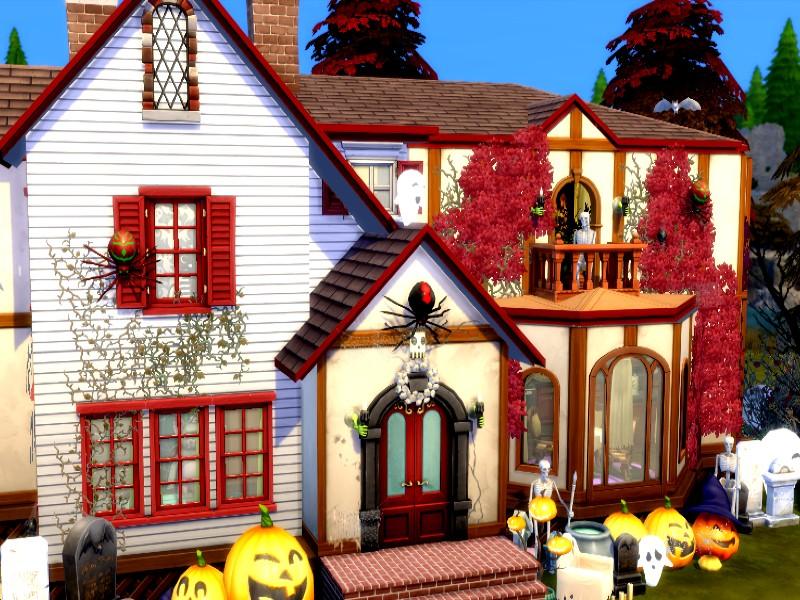 Дом с призраками Симс 4 (картинка 3)