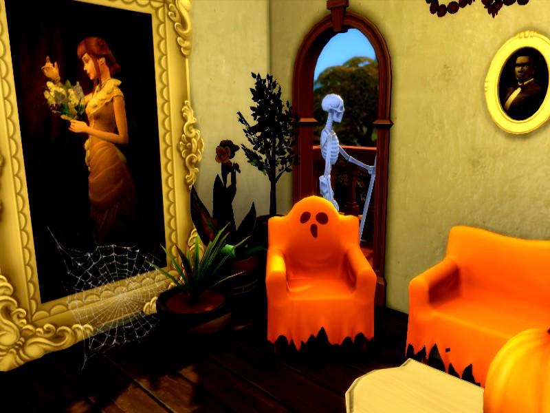 Дом с призраками Симс 4 (картинка 4)