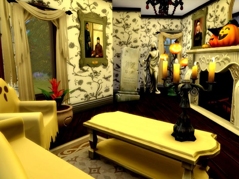 Дом с призраками Симс 4 (картинка 5)