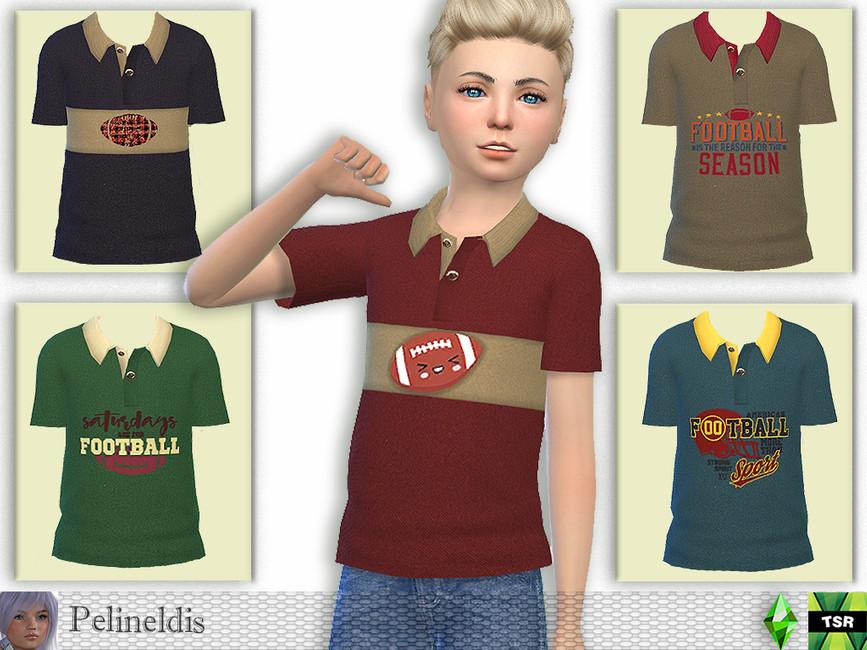Футболка для парней Симс 4