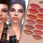 Губная помада Rachel Lipstick для Симс 4