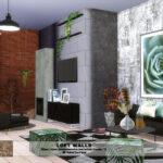 Интерьер дома Симс 4