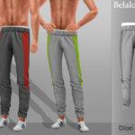 Мод мужские штаны Симс 4