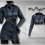 Мод на одежду для девушек Симс 4