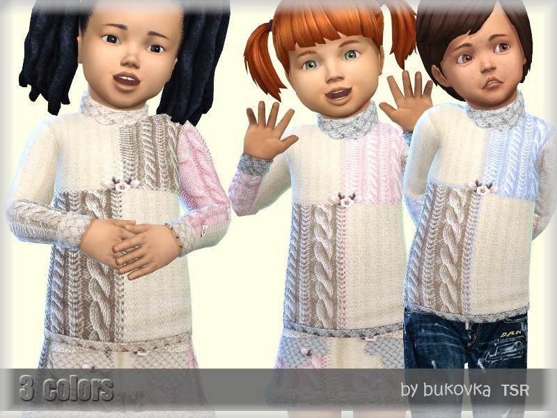 Моды детская одежда для Симс 4