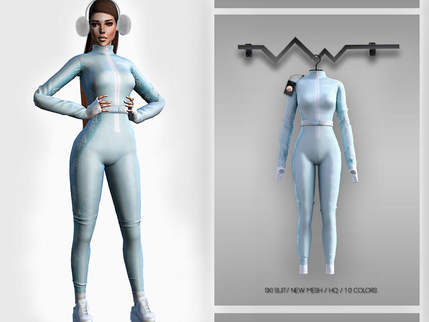 Моды костюм для Симс 4