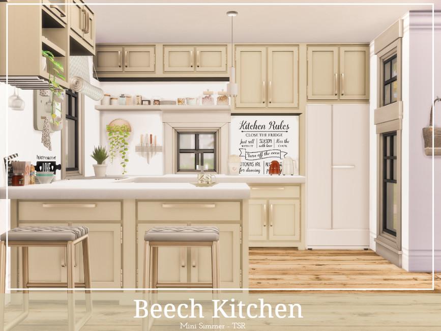 Моды кухня Симс 4 (картинка 2)
