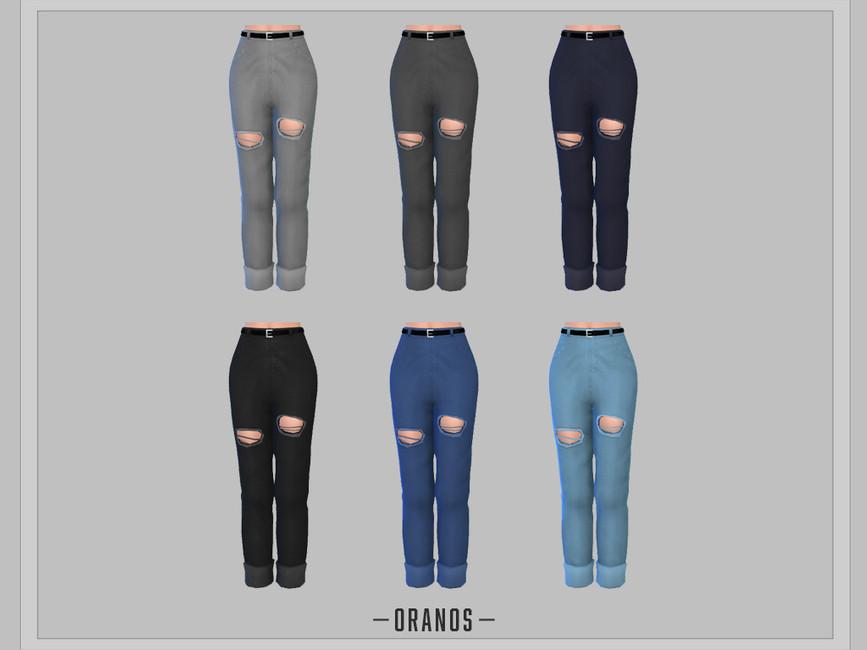 Моды одежда джинсы Симс 4 (картинка 2)