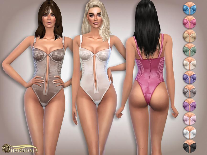 Моды одежда нижнее белье Симс 4