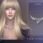 Моды ожерелья для Симс 4