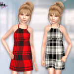 Моды платья для девушек для Симс 4