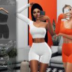 Моды сет одежды Симс 4