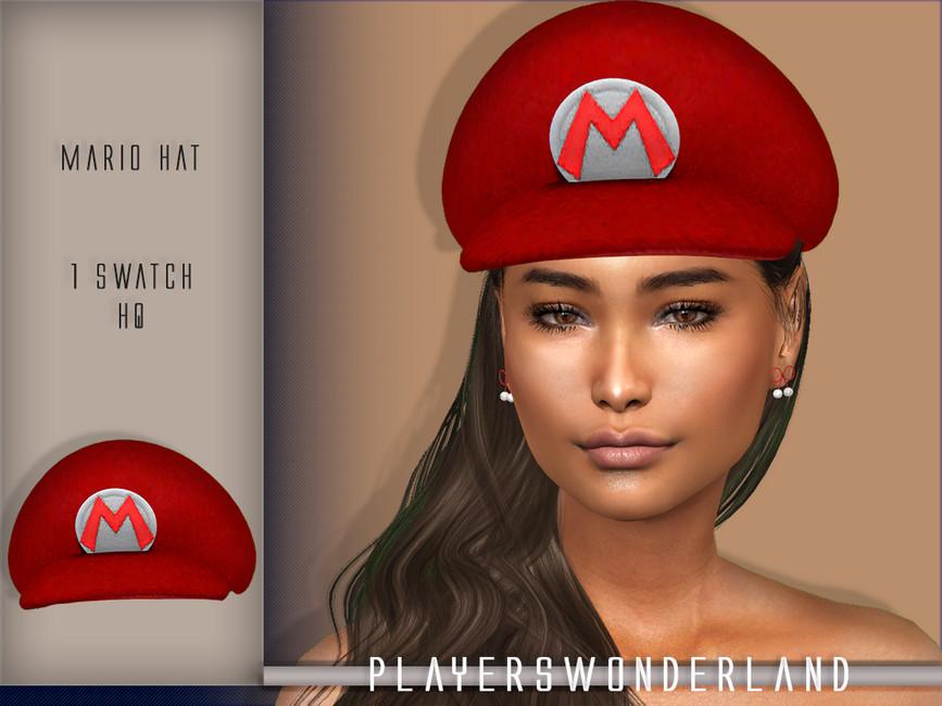 Моды шляпы для Симс 4